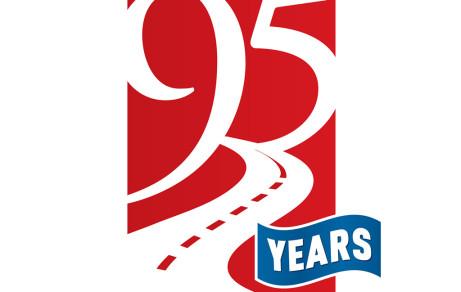 95th Anniversary Logo