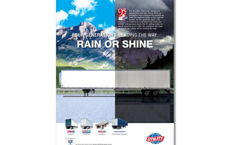 Utility Trailer 95th Anniversary Ad