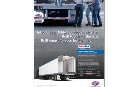 Utility Trailer 4000D-X Composite Ad