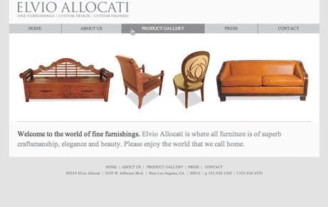 Elvio Allocati Corporate Website
