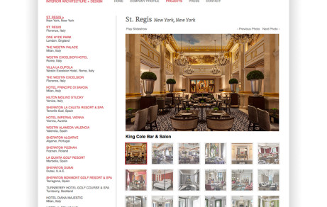HDC Interior Architecture + Design Corporate Website