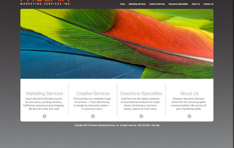 Phoenix Marketing Corporate Website