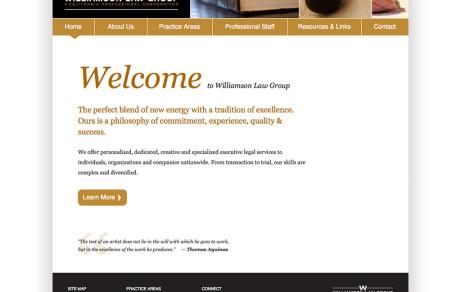 Williamson Law Group Corporate Website