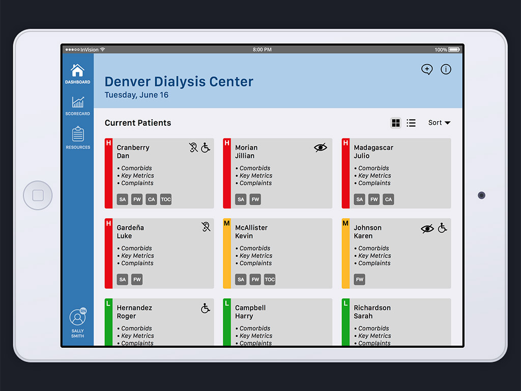 clinical ipad app prototype - Prototype Ipad App